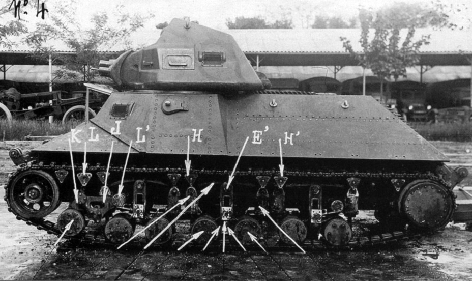 ​The suspension of the Batignolles-Châtillon tank, the main headache for the company's engineers - FCM 36: Ahead of its Time | Warspot.net