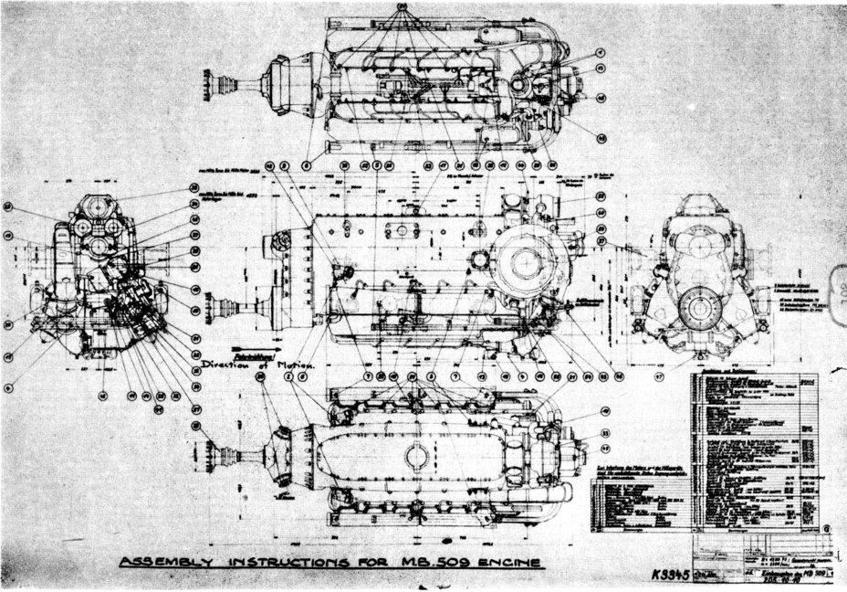 ​Diagram of the Daimler-Benz MB 509 - The Elusive Maus | Warspot.net