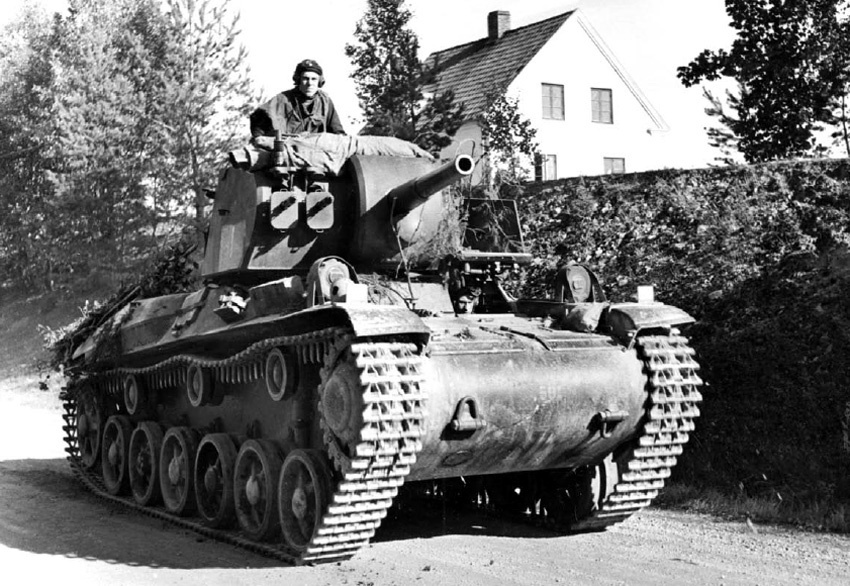 ​Strv m/42 Swedish medium tank - Strv 74: Europe's Last Medium Tank | Warspot.net