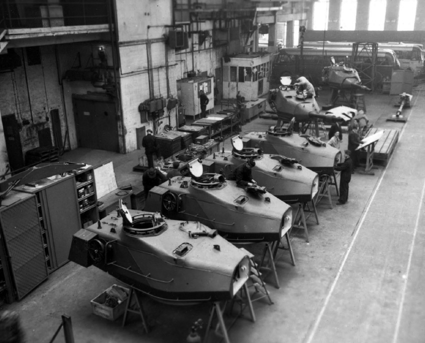 ​Strv 74 turret assembly plant - Strv 74: Europe's Last Medium Tank | Warspot.net