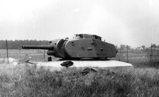​Värntorn, a turret from the Strv m/42 - Strv 74: Europe's Last Medium Tank | Warspot.net