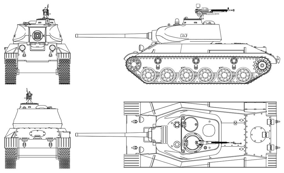 ​Factory #174's new light tank could have looked like this after all the changes requested by the GABTU were implemented. The reconstruction was performed by Vsevolod Martynenko and later used as the basis for the model in World of Tanks - How the LTTB Was Born | Warspot.net