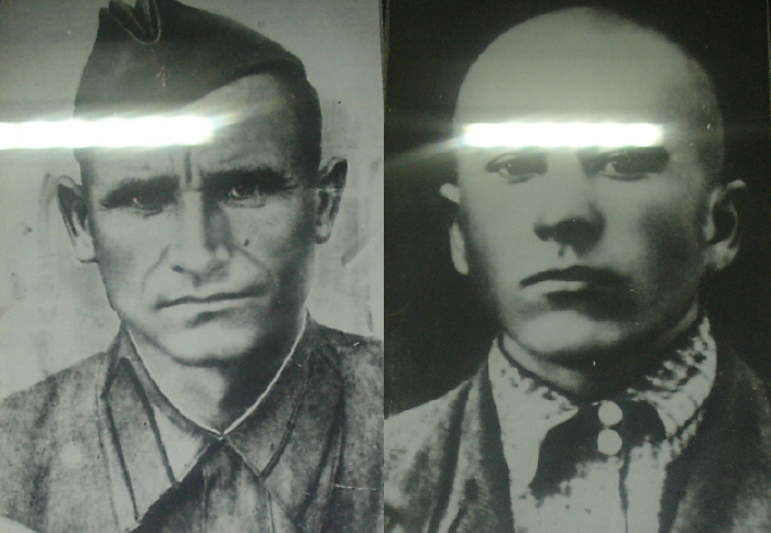 ​On the left is thirty-five-year-old Pavel Demchenko, on the right is Pavel Dovzhenko, 25 years old. Photo from the panorama museum «Battle of Stalingrad» - Unknown Stalingrad: «Grenade, Grenade, My Grenade…» | Warspot.net