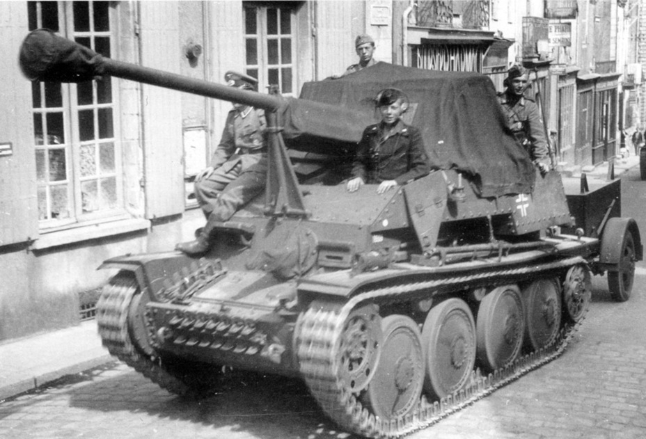 ​Pz.Sfl.2 für 7,62 cm Pak 36 from the third production batch - Marder III: German Tank Destroyer on a Czech Chassis | Warspot.net