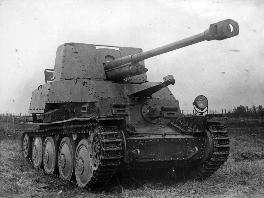 ​A captured tank destroyer at the NIBT proving grounds, summer 1943 - Marder III: German Tank Destroyer on a Czech Chassis | Warspot.net