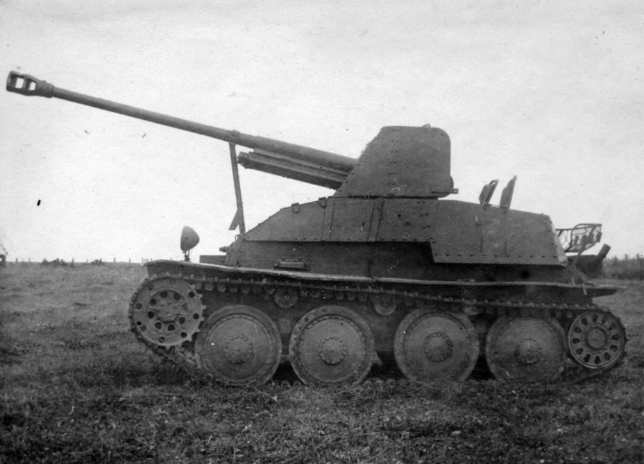 ​The same vehicle from the left - Marder III: German Tank Destroyer on a Czech Chassis | Warspot.net