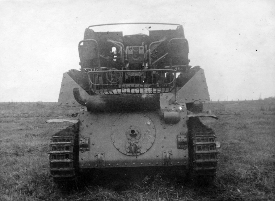 ​A photo from the rear shows the fighting compartment - Marder III: German Tank Destroyer on a Czech Chassis | Warspot.net