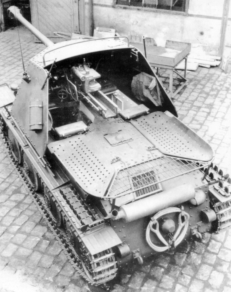 ​The layout of this vehicle was superior to the Pz.Sfl.2 für 7,62 cm Pak 36 - Marder III: German Tank Destroyer on a Czech Chassis | Warspot.net