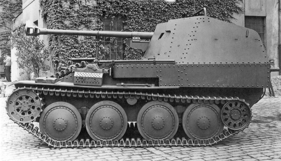 ​Main production batch vehicle, 1943 - Marder III: German Tank Destroyer on a Czech Chassis | Warspot.net