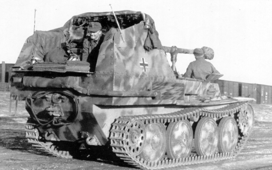 ​The chassis was also welded - Marder III: German Tank Destroyer on a Czech Chassis | Warspot.net