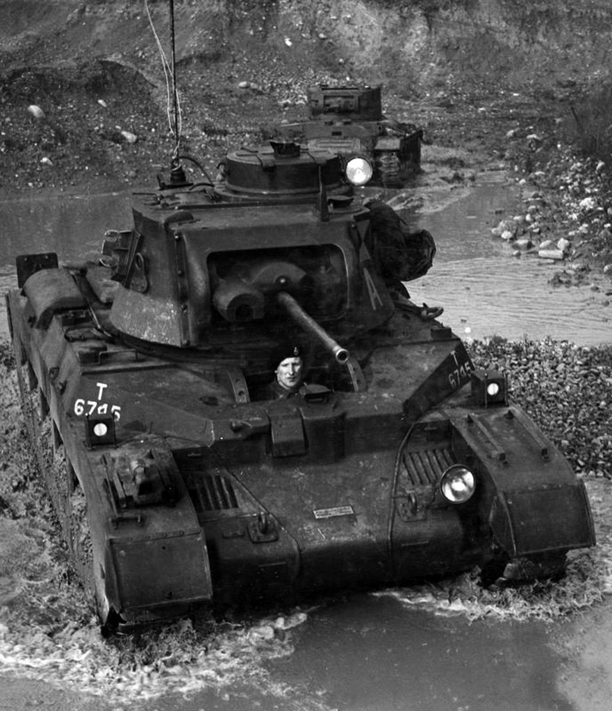 ​Joint trials of the Infantry Tank Mk.II and Infantry Tank Mk.III in early 1940 - Short-Term Queen of the Desert | Warspot.net