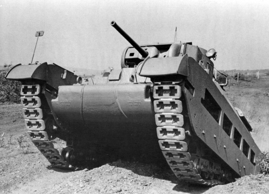 ​One of the first Infantry Tanks Mk.IIA - Short-Term Queen of the Desert | Warspot.net