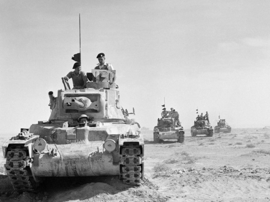 ​Tanks of the 4th Royal Tank Regiment in North Africa, 1941 - Short-Term Queen of the Desert | Warspot.net