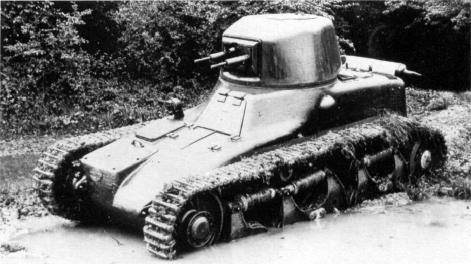 ​Renault ZM prototype on trials, late 1934 - Renault R 35: More for Less  | Warspot.net