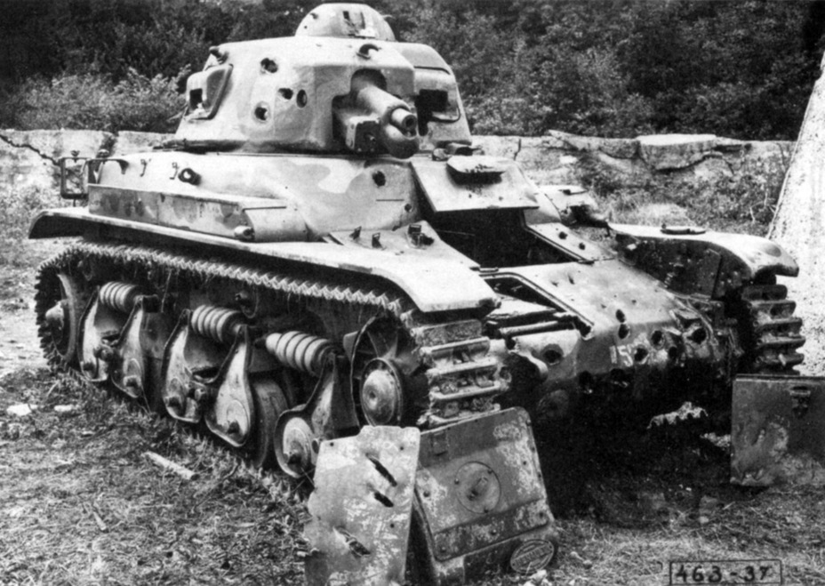 ​R 35 number 50004 after trials. The results were a shock to the French military - Renault R 35: More for Less  | Warspot.net