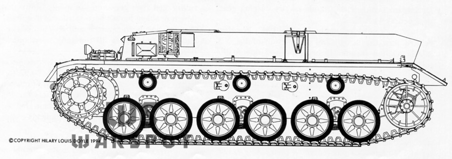 ​The B.W.40 tank from Krupp looked like this. Like Krupp, Daimler-Benz preferred a leaf spring suspension - Panther's Ancestors | Warspot.net