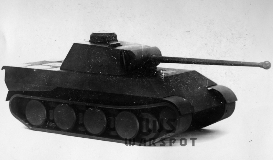 ​Unlike the Daimler-Benz tank, the VK 30.02(M) was built to use the universal Rheinmetall turret - Panther's Ancestors | Warspot.net