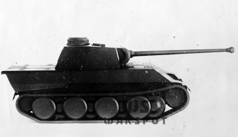 ​A classic German layout allowed the turret to be placed near the center of mass - Panther's Ancestors | Warspot.net