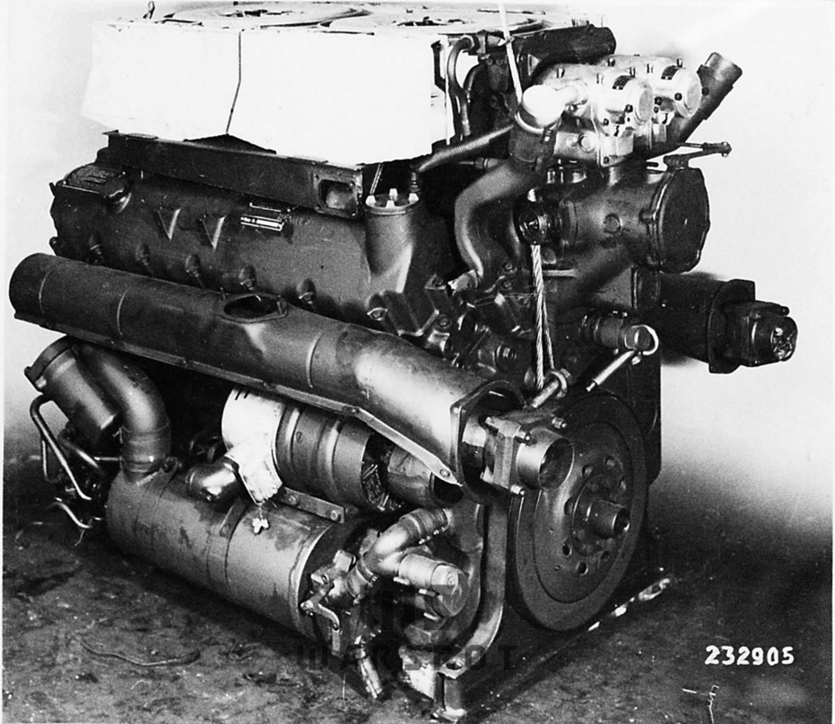 ​The Maybach HL 230 engine, initially used on the Panther and later on the Tiger - Panther's Ancestors | Warspot.net