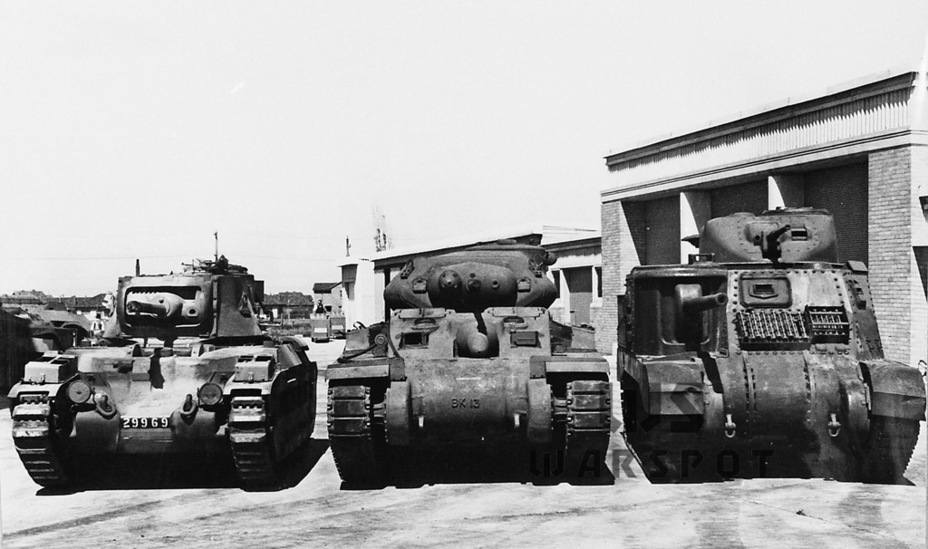 ​AC I compared to the Matilda IV and Lee I - The Australian Sentinel | Warspot.net