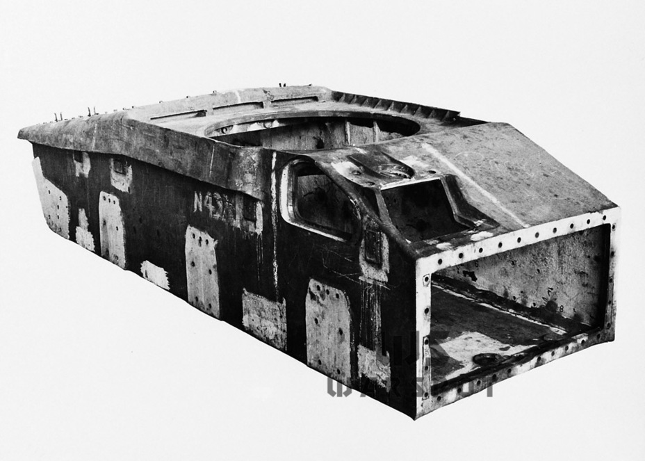 ​AC III hull. The hull machine gun and gunner were removed. The upper front plate is sloped - The Australian Sentinel | Warspot.net