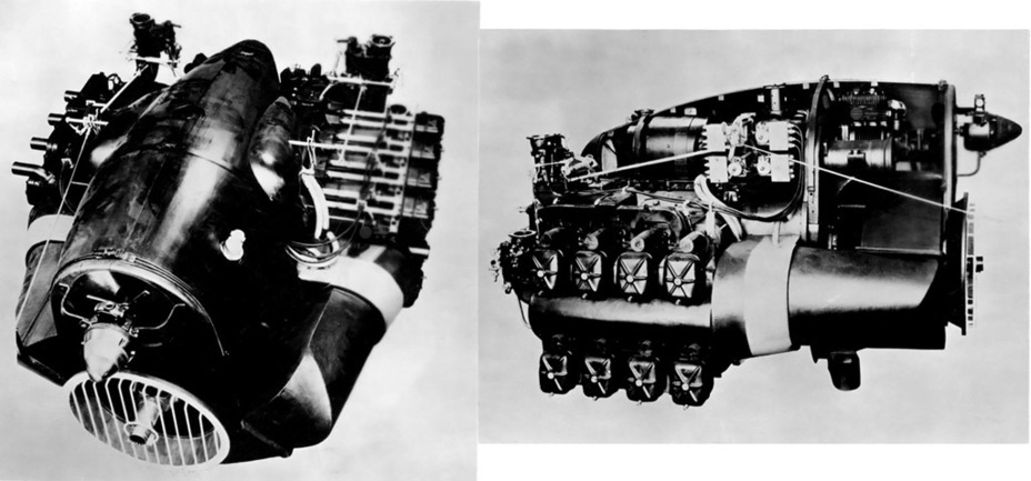 ​Model of a 510 hp Quad-Gypsy engine. This engine was planned for installation into the AC IV - The Australian Sentinel | Warspot.net