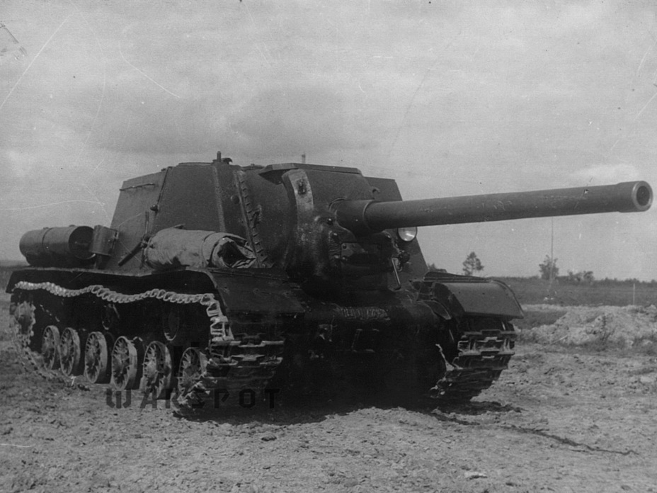 ​Production ISU-122. The vehicle looked like this in early summer of 1944 - ISU-122 Heavy Tank Destroyer | Warspot.net
