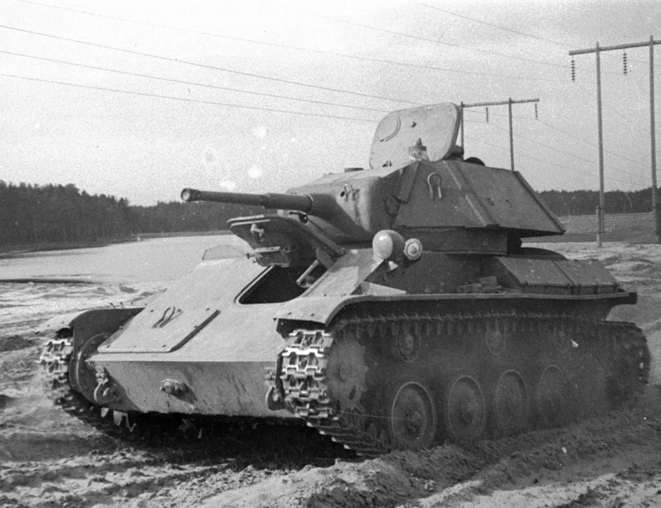 ​Factory trials, September of 1942 - The First T-80 | Warspot.net