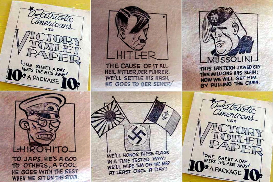 ​«American patriots use Victory toilet paper», or feel yourself involved in fight for the right cause for just 10 cents (http://www.tagyerit.com) - Highlights for Warspot: faces of enemy leaders | Warspot.net