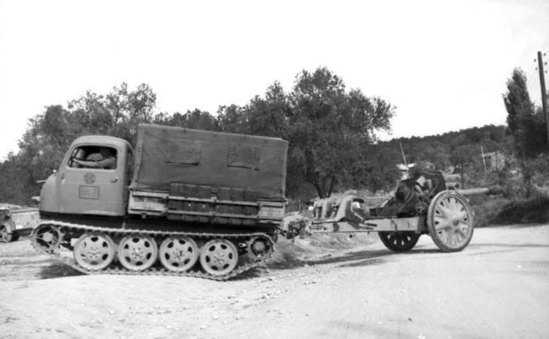 ​RSO tractor in its original form - An Ersatz Tank Destroyer from an Ersatz Tractor | Warspot.net