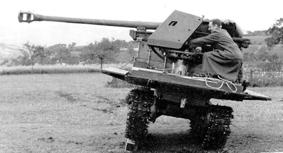 The SPG during trials - An Ersatz Tank Destroyer from an Ersatz Tractor | Warspot.net