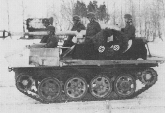 ​The 7,5 cm Pak 40/4 auf RSO (Sf) used as a hearse - An Ersatz Tank Destroyer from an Ersatz Tractor | Warspot.net