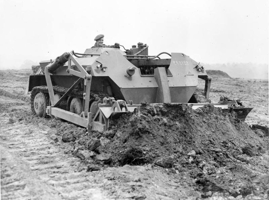 ​Alecto Dozer during trials. This is a conversion of the prototype - Pocket Fury | Warspot.net