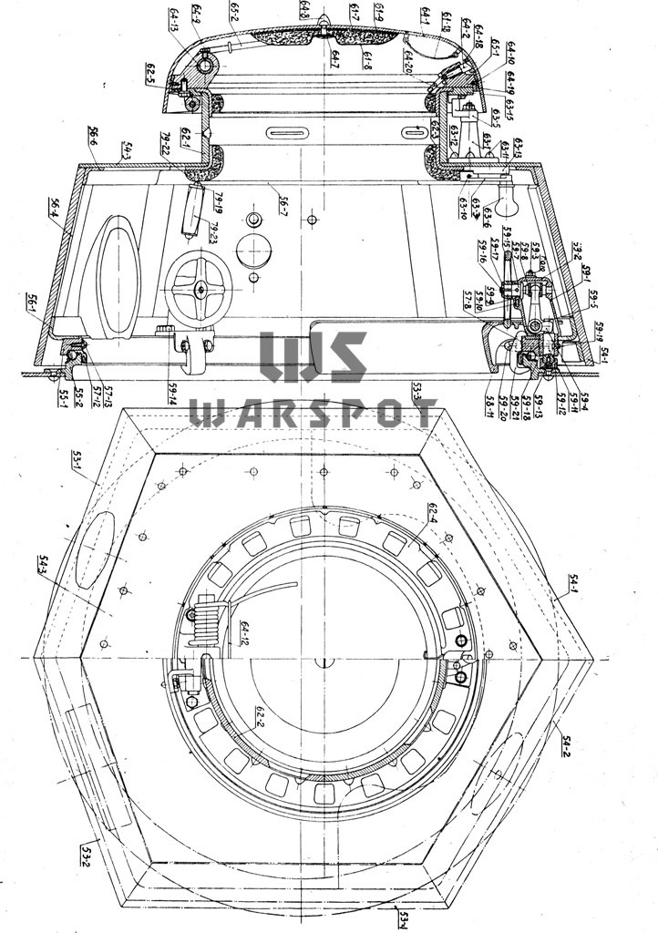 ​Turret of the first and second production batch T-18 tanks - T-18: Mass Produced Answer to Chamberlain | Warspot.net