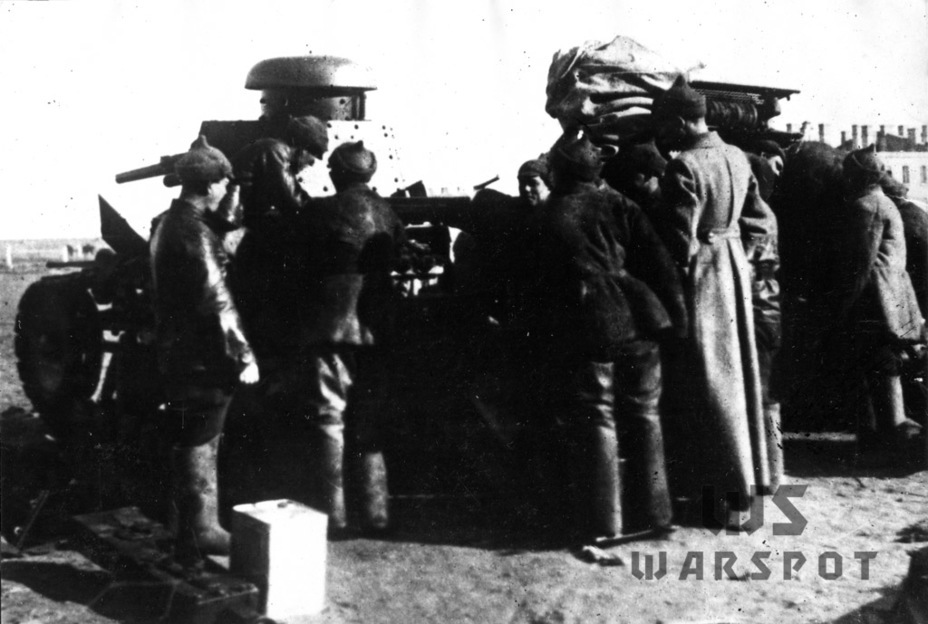 ​Servicing tanks in the Special Red Banner Far East Army, November 1929. These tanks took part in the fighting over the East China Railroad - T-18: Mass Produced Answer to Chamberlain | Warspot.net