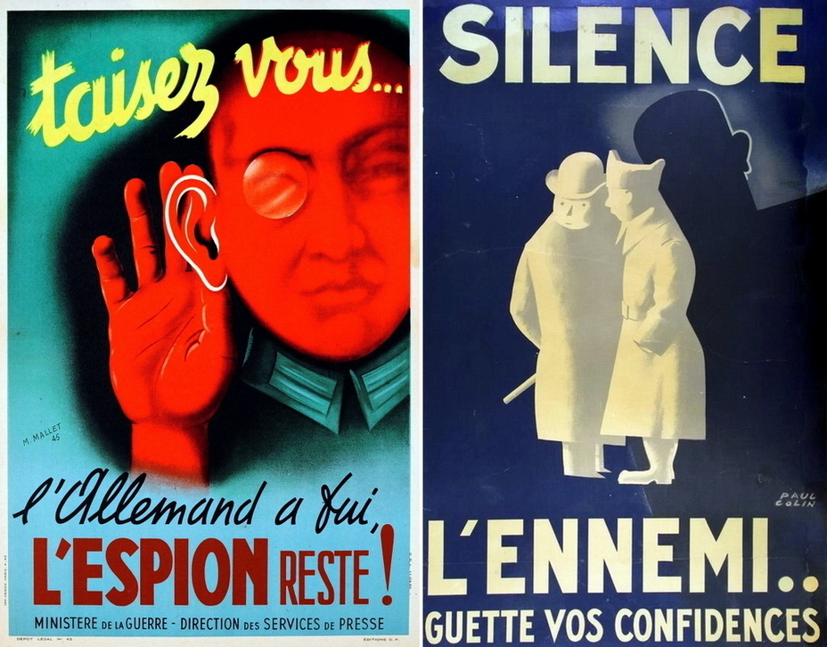 ​French posters are not very original. However, the details of the uniform are recognizable, and you can clearly see who is your ally and who is the enemy - Highlights for Warspot: world-wide vow of silence | Warspot.net