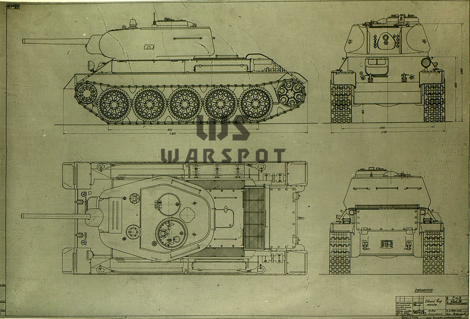 ​Overall view of the reworked T-43, May 1943 - T-43: an Intermediate Step | Warspot.net
