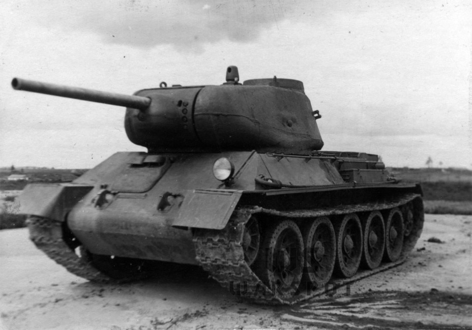 ​The first improved T-43, August 1943 - T-43: an Intermediate Step | Warspot.net