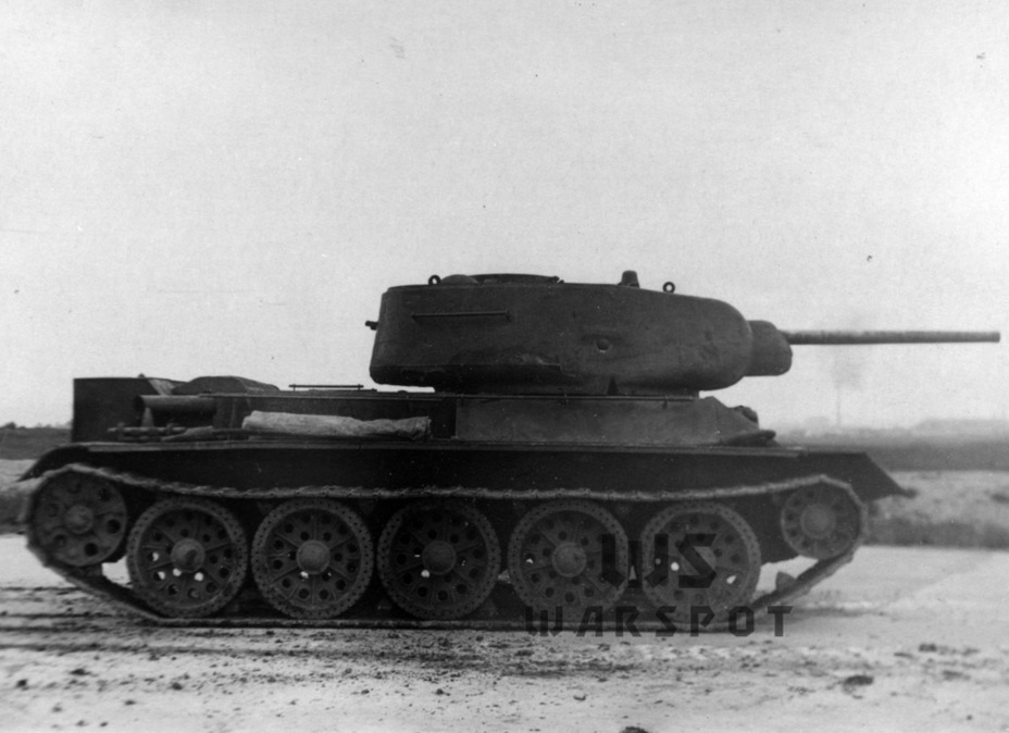​The turret was the biggest change from the 1942 production tank - T-43: an Intermediate Step | Warspot.net