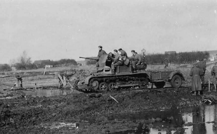 ​Flakpanzer I on the Eastern Front - A SPAAG for the Panzerwaffe | Warspot.net