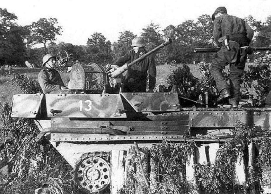 ​Flakpanzer 38(t) ready to fire - A SPAAG for the Panzerwaffe | Warspot.net