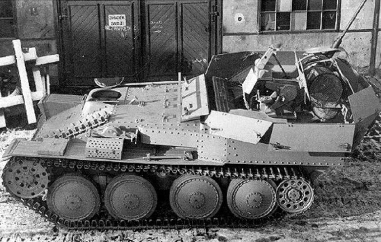 Flakpanzer 38(t) as seen from above - A SPAAG for the Panzerwaffe | Warspot.net
