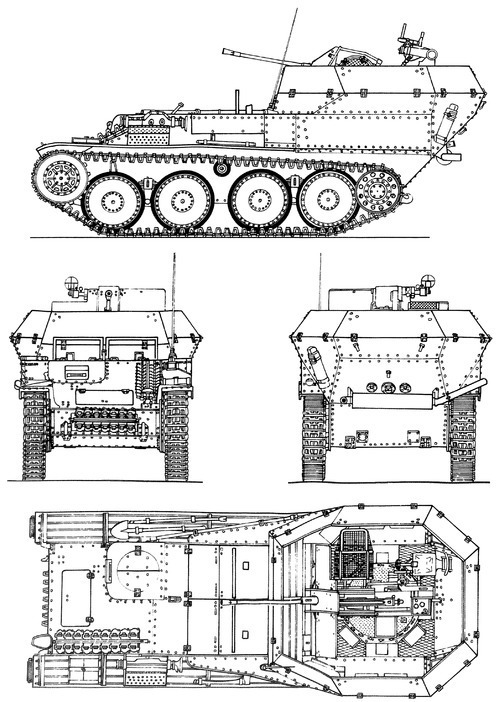 ​Drawings of the Flakpanzer 38(t) - A SPAAG for the Panzerwaffe | Warspot.net