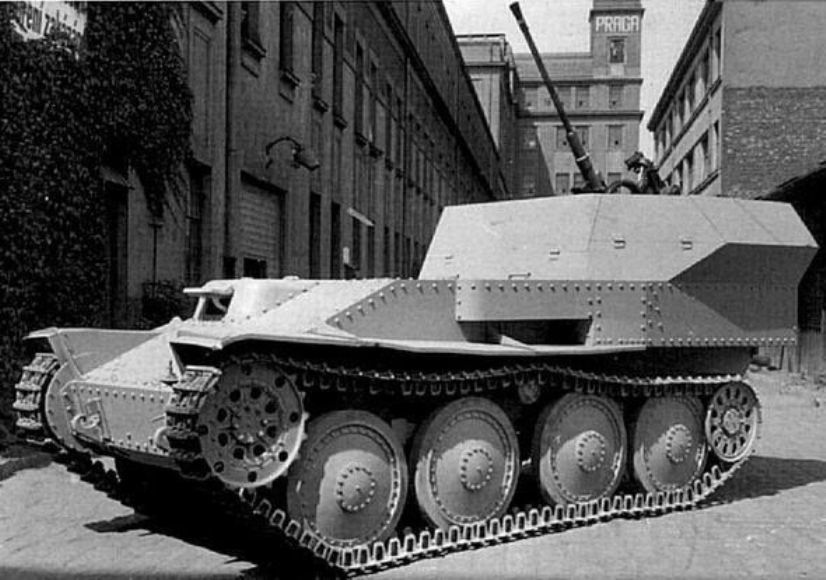 ​General view of the Flakpanzer 38(t) - A SPAAG for the Panzerwaffe | Warspot.net
