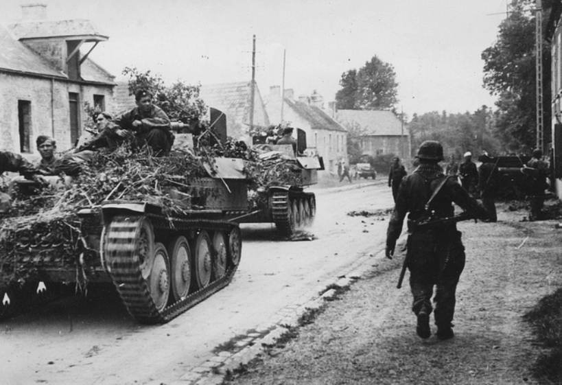 Flakpanzer 38(t) on the move - A SPAAG for the Panzerwaffe | Warspot.net