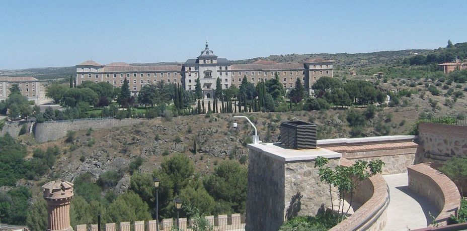 ​View of the Military School from the terrace of the museum. Photo by the author - In memory of past greatness | Warspot.net