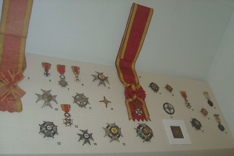 ​The Order of Saint Fernando is the highest military decoration in Spain. Photo by the author - In memory of past greatness | Warspot.net