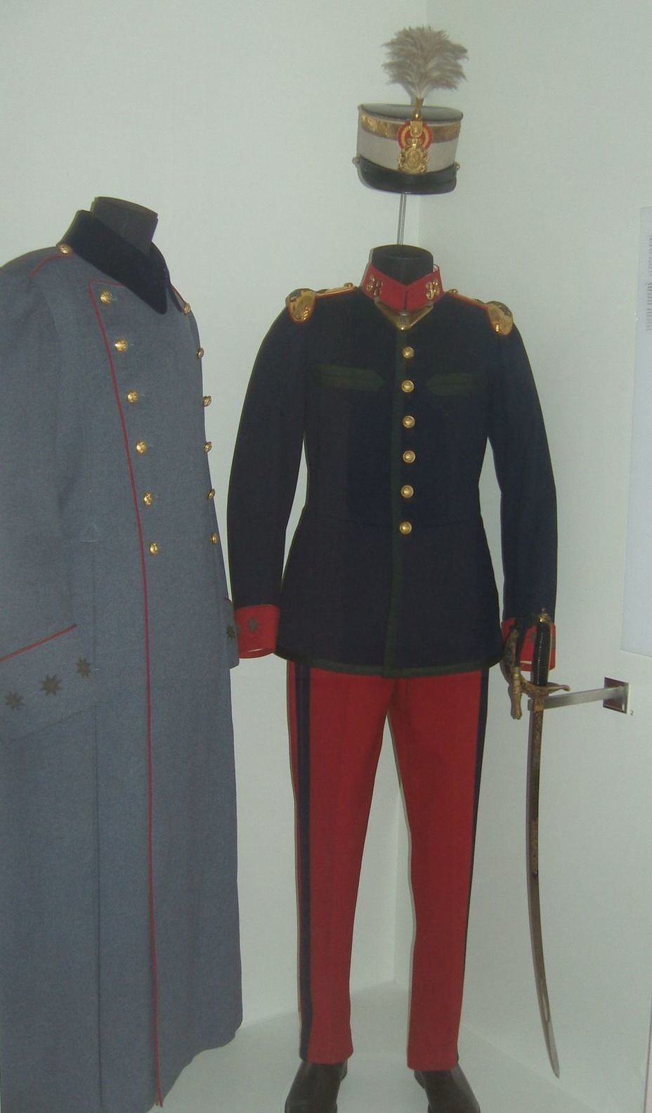​Colonel uniform of the Austrian Emperor and Hungarian King Franz Joseph I, who was the Colonel in chief of the 38th Infantry Regiment of the Spanish Army. The beginning of the twentieth century. Photo by the author - In memory of past greatness | Warspot.net