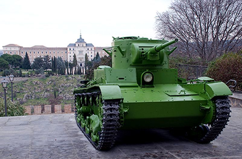 ​Tank T-26. — elmunicipio.es - In memory of past greatness | Warspot.net