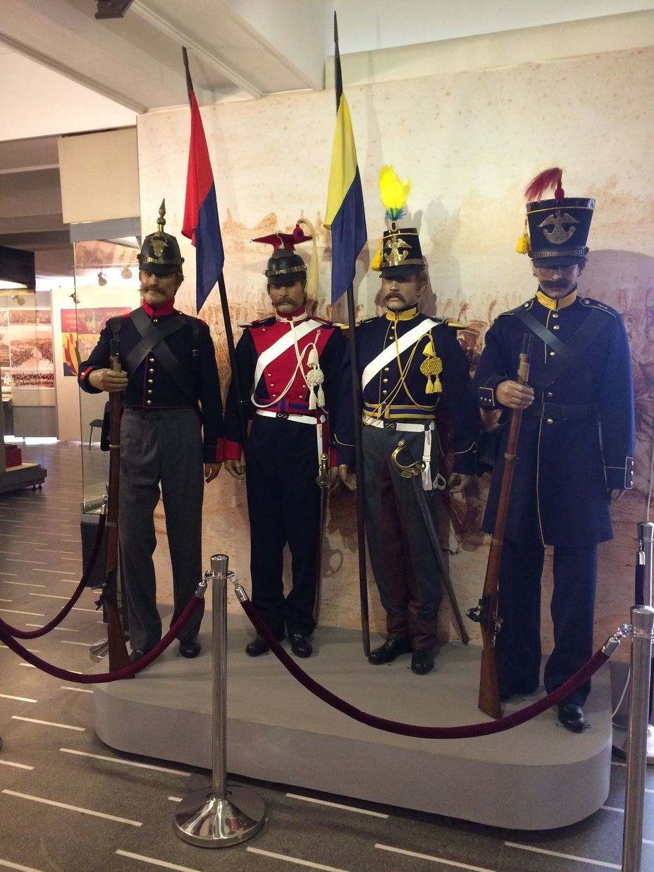 ​Mannequins of soldiers of the Romanian principalities in the form of the middle of the 19th century. Photo by the author - Romanian military history from antiquity to the 21st century | Warspot.net
